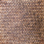 Texture of bamboo weave for background — Stock Photo