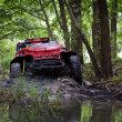 Stock Photo: RAID 4X4 RACE