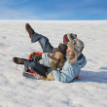 Winter holiday fun — Stock Photo