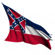 Mississippi flag - USA state flags collection — Stock Photo #12015232
