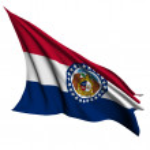 Missouri flag - USA state flags collection — Stock Photo