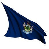 Maine flag - USA state flags collection — Stockfoto