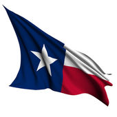 Texas flag - USA state flags collection — Stock Photo