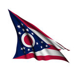 Ohio flag - USA state flags collection — Stock Photo