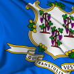 Connecticut Flag — Stock Photo