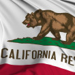 California Flag — Stock Photo