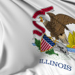 Illinois Flag — Stock Photo #20033729