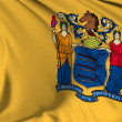 New Jersey  flag — Stock Photo