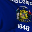 Wisconsin flag — Stock Photo #20034745