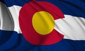 科罗拉多州旗 — 图库照片