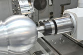 Lathe, CNC milling — Stock Photo