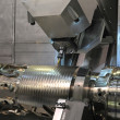 Stock Photo: Lathe, CNC milling