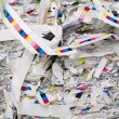 Paper strips — Stock Photo