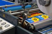 印刷机械 — 图库照片
