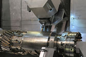 Lathe, CNC milling — Stock Photo