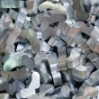Stock Photo: aluminum recycling