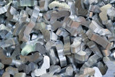 Aluminum recycling — Stock Photo
