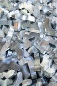 Aluminum recycling — Stock Photo