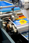Printing machine — Stock Photo