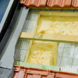 Stock Photo: Thermal insulation of roof
