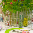 Stock Photo: Table decoration