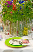 Table decoration — Foto de Stock
