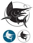 Marlin — Stock Vector
