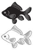Peixinho — Vetor de Stock