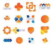 The figure shows the icons — Stock Vector