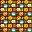 Christmas seamless background, plaid pattern, wrapping paper — Stock Vector #13414938