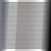 Chrome - sheet metallic — Stock Vector