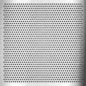 Chromium - scratched sheet metallic — Stock Vector