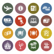 Stock Vector: Recreation, Travel & Vacation, icons set