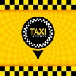 Taxi symbol, new background, vector illustration 10eps - Stock vektor