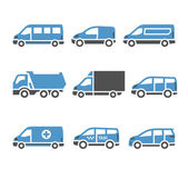 Transport Icons - A set of sixth — Stock Vector