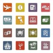 Recreation, Travel & Vacation, icons set — Stock Vector #22497501