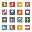 Vacation, Travel & Recreation, icons set — Stock Vector #22498371