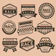 Royalty-Free Stock Vector Image: Racing insignia