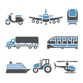 Transport Icons - A set of tenth — Stock Vector