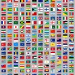 Stock Vector: 216 Flags of world