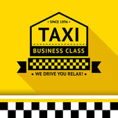 Taxi badge 08 — Stock Vector