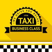 Taxi badge 09 — Stock Vector