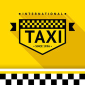 Taxi badge 17 — Stock Vector