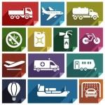 Transport flat icon-02 — Stock Vector #47209875