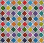 Bezešvé pozadí z prázdné čtverečky staré barvy — Stock vektor