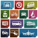 Постер, плакат: Transport flat icon 04