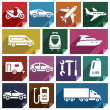 Постер, плакат: Transport flat icon 09