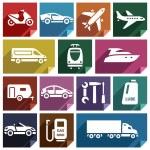 Постер, плакат: Transport flat icon 09