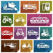 Transport flat icon-06 — Stock Vector