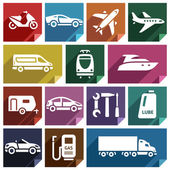Transport flat icon-09 — Stock Vector